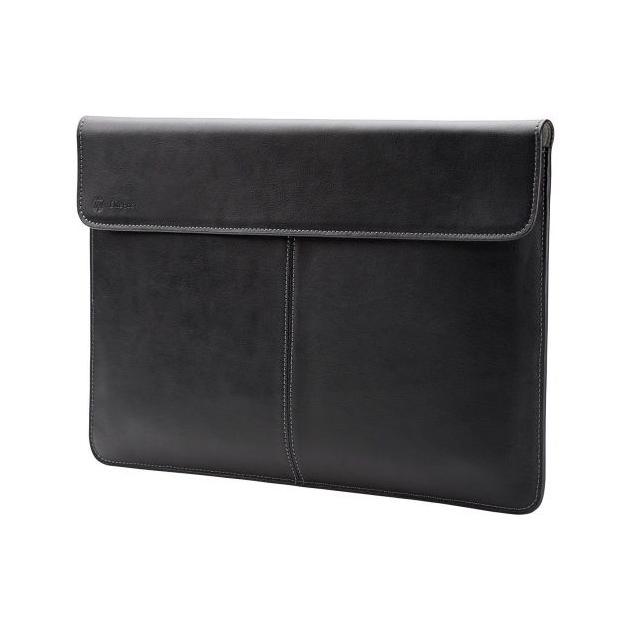 HP Case Elite Leather Sleeve 13.3 13.3, Черный, Натуральная кожа