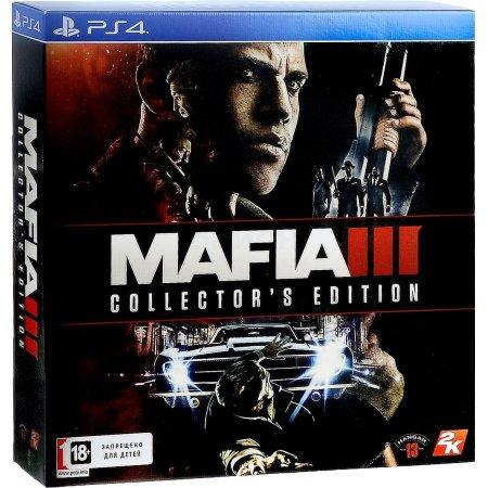 Mafia 3 PS4 коллекционное издание, русские субтитры