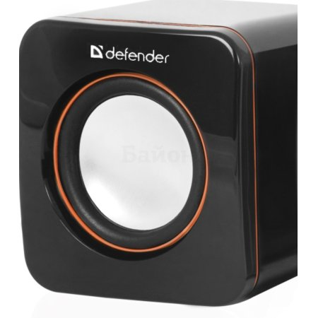 Defender SPK-530 Черный, 2.0, mini jack, Пластик