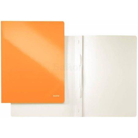 Скоросшиватель Leitz WOW оранжевый (30010044) А4