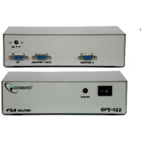 Разветвитель VGA 2-Port (VGA15F+2xVGA15F, б.п., GVS-122, VDS8015)