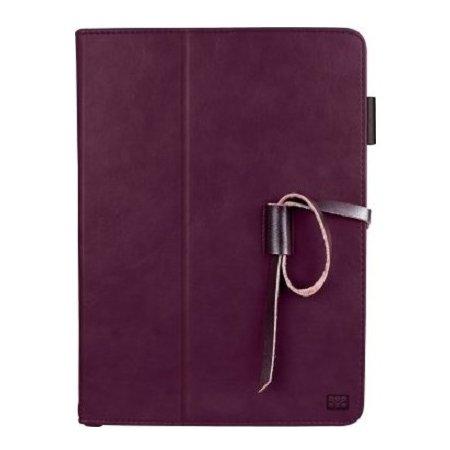 Promate Agenda чехол-подставка, кожа, Пурпурный