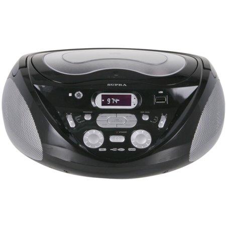 Supra SR-CD118 Черный, flash, CD