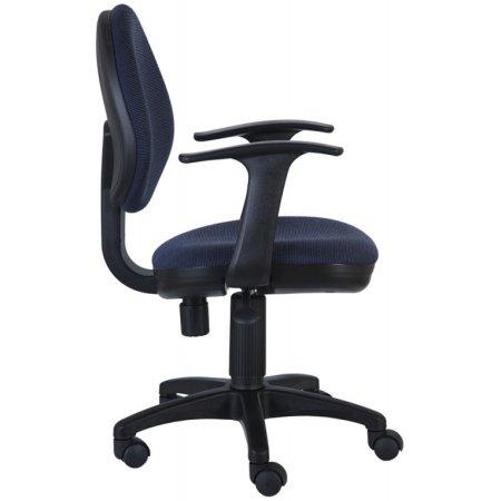 Кресло Бюрократ CH-356AXSN/Bl&Blu черный/синий 12-191