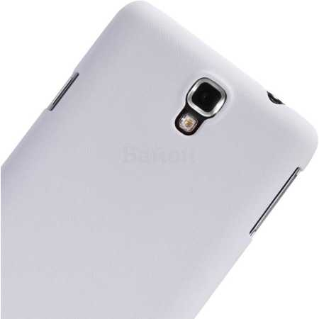 Nillkin Samsung Galaxy Note 3 super frosted shield накладка, поликарбонат, Белый