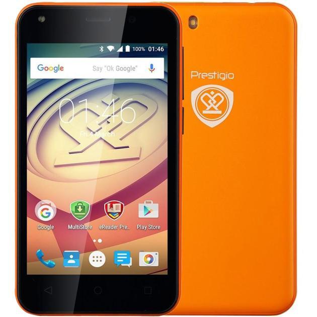 Prestigio Wize L3 3403 DUO ORANGE 4Гб, Оранжевый, Dual SIM, 3G