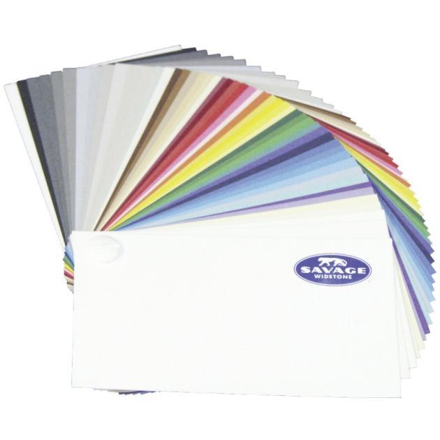 Фон бумажный Savage Swatchbook, образец расцветок, 50 цветов CC-SWATCHBOOK