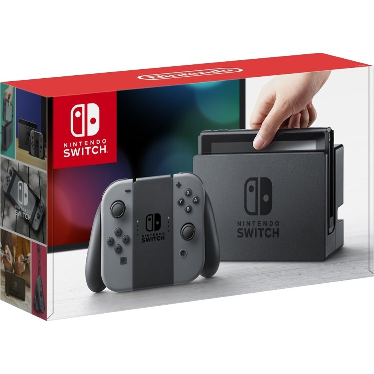 Nintendo Switch Серый/Черный