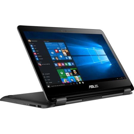 "Asus Transformer Book Flip TP301UA 13.3"", Intel Core i7, 2500МГц, 4Гб RAM, DVD нет, 500Гб, Черный, Wi-Fi, Windows 10, Bluetooth"