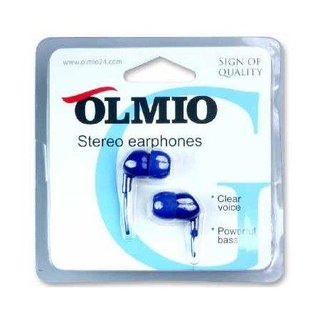 Olmio Stereo Earphones ПР036035 Синий