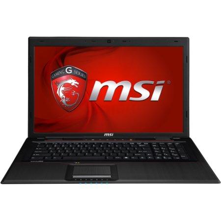 "MSI GE70 2PL Apache 17.3"", Intel Core i7, 2600МГц, 8Гб RAM, DVD-RW, 1Тб, Черный, Wi-Fi, Windows 8.1, Bluetooth"