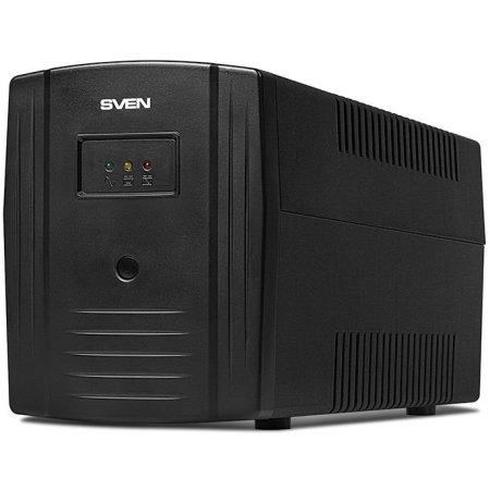 UPS Sven Pro 650 90Вт, LCD, USB, RG-45, 2 евро розетки