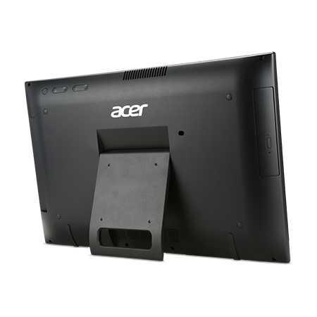 Acer Aspire Z1-622 нет, Черный, 4Гб, 1024Гб, DOS, Intel Pentium