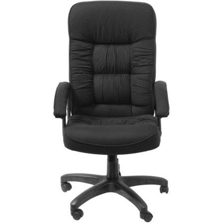 Кресло руководителя Бюрократ T-9908AXSN-Black черный 80-11 ткань крестовина пластиковая