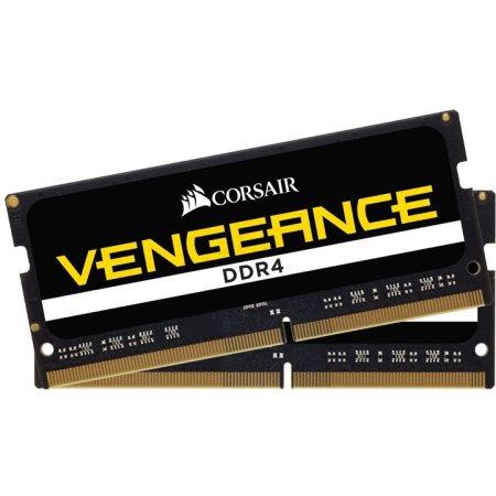 Corsair CMSX32GX4M2A2666C18 DDR4, 32Гб, PC4-21300, 2666, SO-DIMM