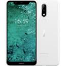 Nokia 5.1 Plus Глянцевый белый