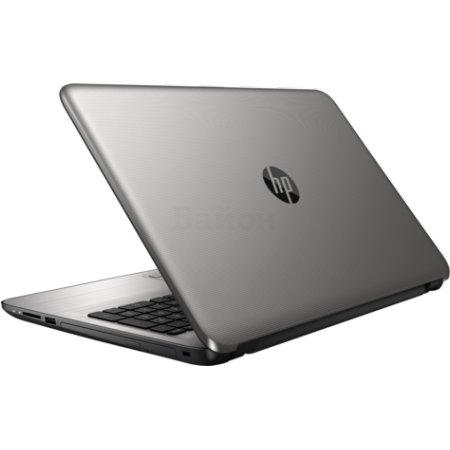 "HP 15-ay000ur 15.6"", Intel Pentium, 1600МГц, 4Гб RAM, DVD-RW, 500Гб, Серебристый, Wi-Fi, Windows 10, Bluetooth"