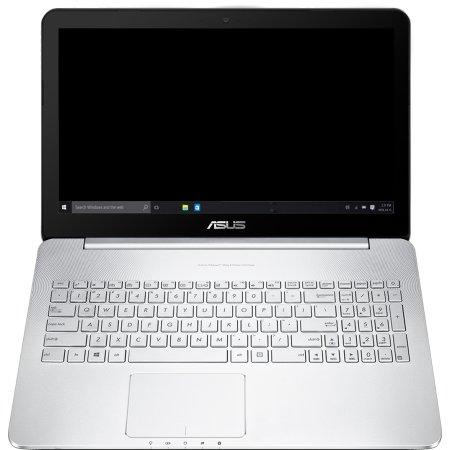 "Asus N752VX-GC230T 17.3"", Intel Core i7, 2600МГц, 16Гб RAM, DVD-RW, 1256Гб, Не указан, Wi-Fi, Windows 10"