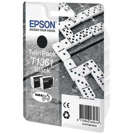 Epson C13T13614A10 Картридж струйный, Черный, Стандартная, нет