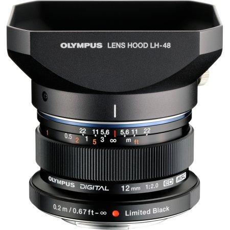 Olympus M.Zuiko Digital ED 12mm f/2.0 Широкоугольный, Micro 4/3