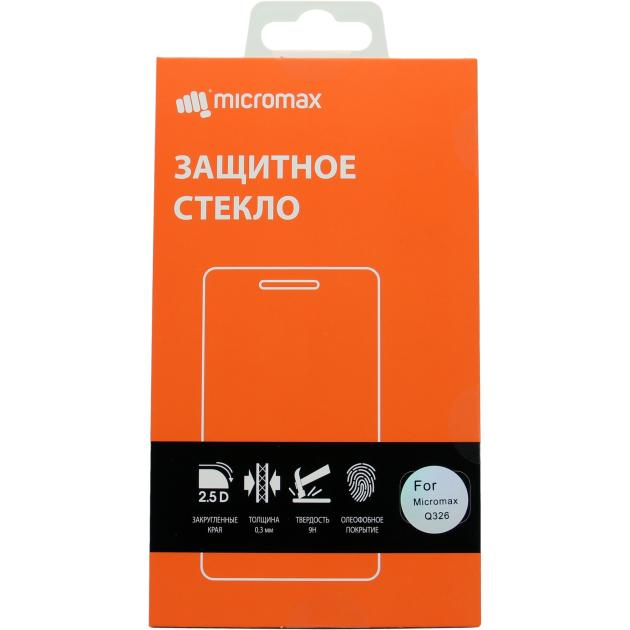 Защитное стекло для Micromax Q326 4897044302445
