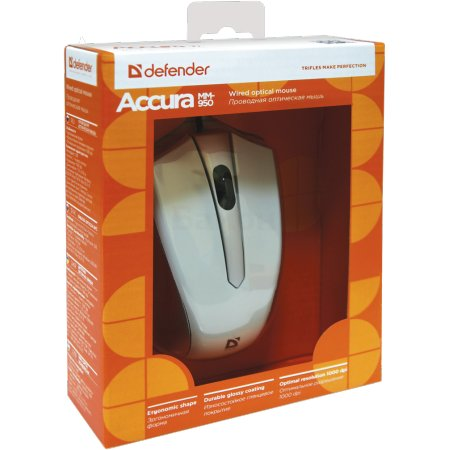 Defender Accura MM-950 Серый, USB