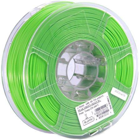 ESUN ABS175V1 Светло-зеленый, Картридж ABS в катушке, Стандартная, нет