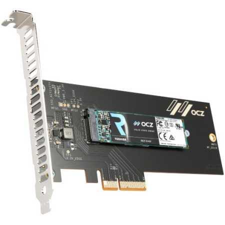 Toshiba OCZ RD400A [RVD400-M22280-256G-A] Add-in-Card (AIC), 256Гб, PCI-E x4