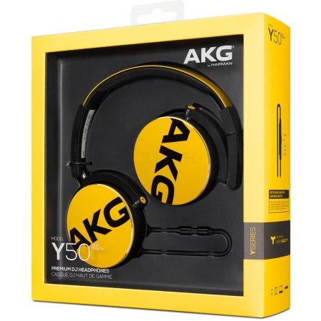 AKG Y50 Желтый
