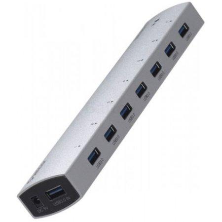 USB хаб Orico AS7P-U3 Silver