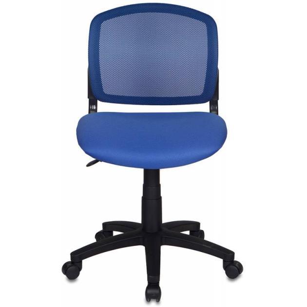 Кресло Бюрократ CH-296/BL/15-10 спинка сетка синий сиденье темно-синий 15-10