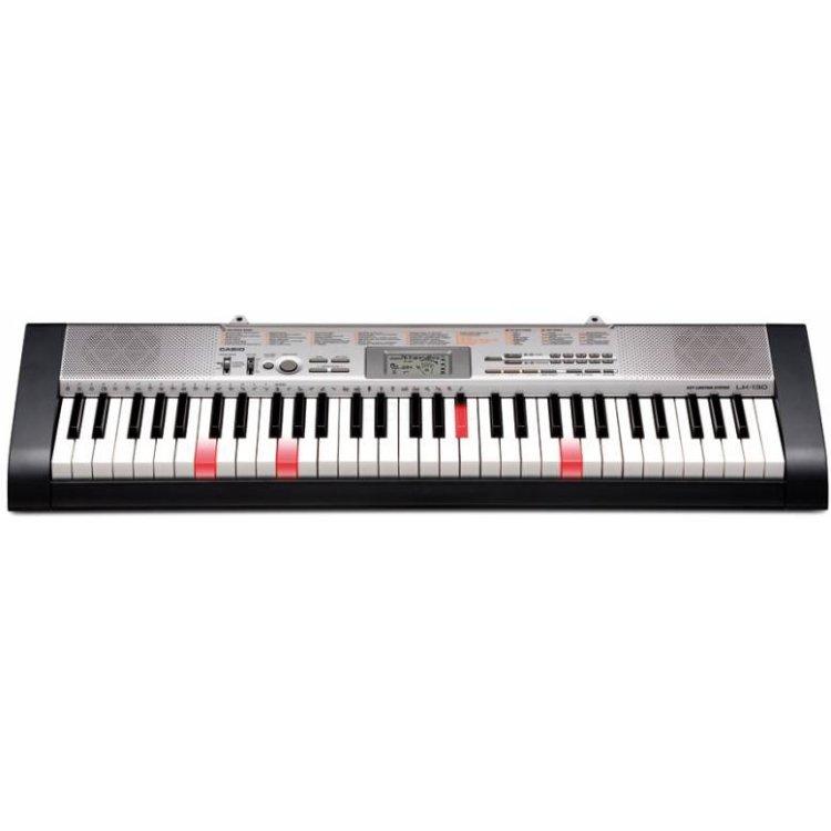Купить Синтезатор Casio LK-130 61клав. черный/серебристый в интернет магазине бытовой техники и электроники