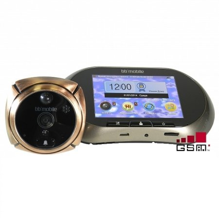 Дверной видео bb-mobile GSM ГлазОК Бронзовый
