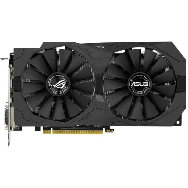 Asus STRIX-RX470-O4G-GAMING PCI-E 16x 3.0, 8192Мб, GDDR5 STRIX-RX470-O8G-GAMING