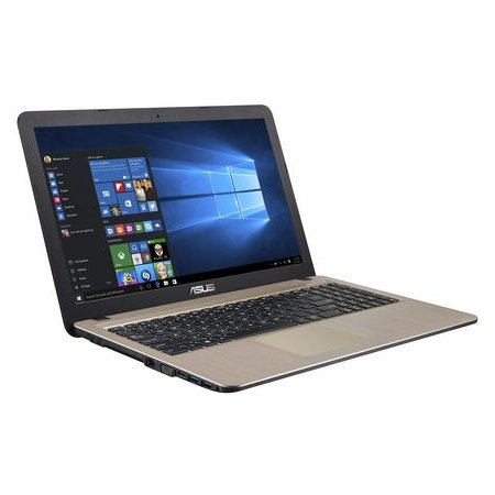 """Asus X540YA 15.6"""", AMD E-series, 1500МГц, 2Гб RAM, DVD нет, 500Гб, Черный, Wi-Fi, DOS"""
