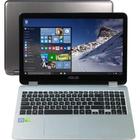 """Asus TP501UQ 15.6"""", Intel Core i7, 2500МГц, 8Гб RAM, DVD нет, 1Тб, Черный, Wi-Fi, Windows 10"""