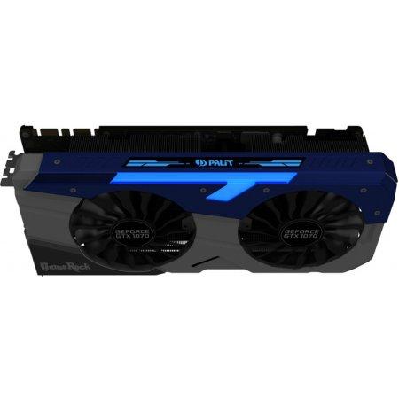 Palit GTX 1070 GameRock Premium Edition 8192Мб, GDDR5, 1670MHz , PCI-Ex16 3.0