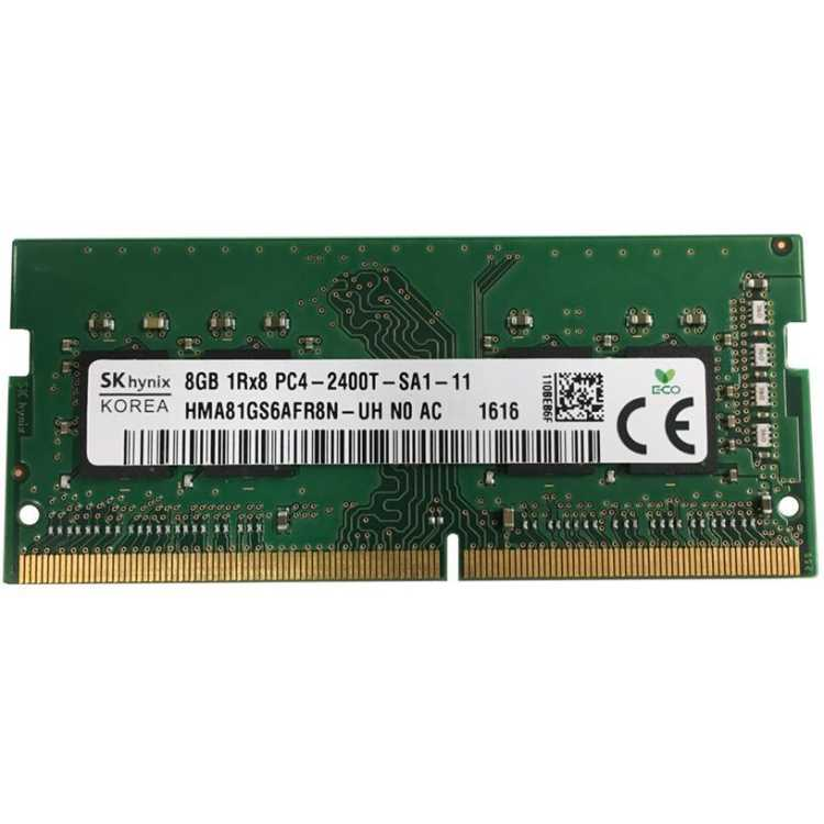 Hynix HMA81GS6AFR8N-UHN0 DDR4, 1, 8Гб, РС-19200, 2400МГц, SO-DIMM