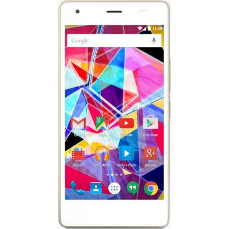Archos A50 DIAMOND S 16Гб, Белый, Dual SIM, 4G (LTE), 3G
