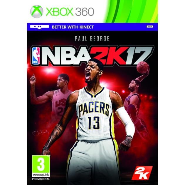NBA 2K17Игры для XBox<br>Жанр Спорт и отдых , Возрастные ограничения 18+ (Возраст 18+) , Для игровой приставки Xbox 360 , Язык Английский...<br><br>Артикул: 1292042<br>Производитель: 2K Games<br>Специальное издание: Нет<br>Для игровой приставки: Xbox 360<br>Жанр: Спорт и отдых<br>Возрастные ограничения: 18+ (Возраст 18+)<br>Язык: Английский