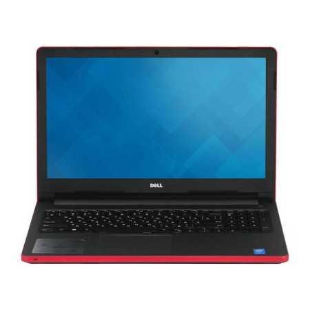 "Dell Inspiron 5558 15.6"", Intel Core i3, 2000МГц, 4Гб RAM, 500Гб, Красный, Wi-Fi, Windows 10, Bluetooth, WiMAX"