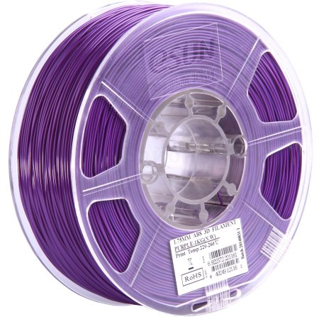 ESUN ABS175Z1 Пурпурный, Картридж ABS в катушке, Стандартная, нет