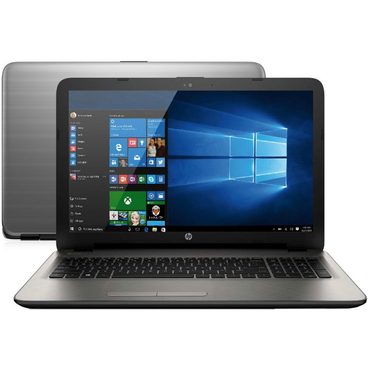 "HP 15-ba094ur 15.6"", AMD A10, 2400МГц, 12Гб RAM, DVD-RW, 1Тб+8Гб, Windows 10, Серебристый, Wi-Fi, Bluetooth"