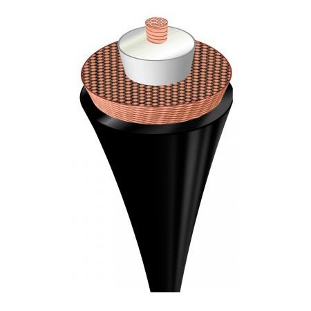 Кабель аудио-видео Avinity 1хRCA (f)/1хRCA (m) 2м. Позолоченные контакты черный (00107510)