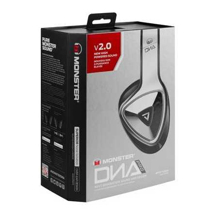 Monster DNA Pro 2.0 Over-Ear Белый