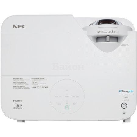 NEC M333XS портативный, Белый