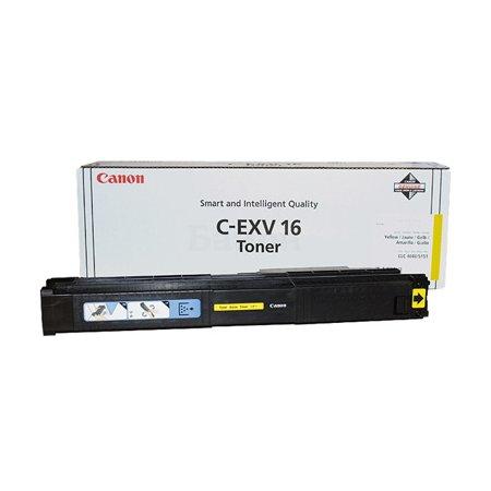 Canon C-EXV16 Желтый