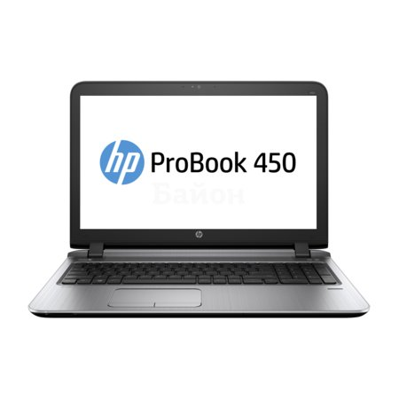 "HP ProBook 450 G3 15.6"", Intel Core i5, 2300МГц, 4Гб RAM, DVD-RW, 500Гб, Черный, Wi-Fi, DOS, Bluetooth"