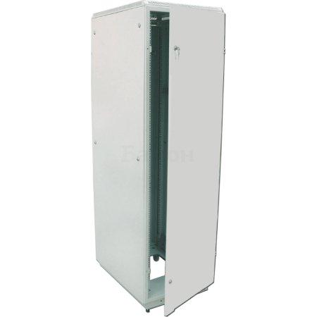 ЦМО Шкаф телекоммуникационный напольный 42U (600x600) дверь металл (3 места), [ ШТК-М-42.6.6-3ААА ]