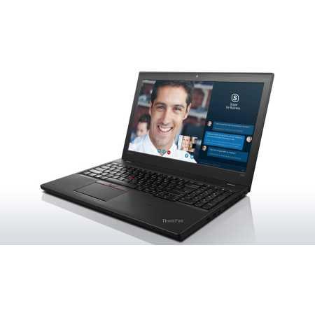 "Lenovo ThinkPad T560 20FH001ART 15.6"", Intel Core i7, 2600МГц, 8Гб RAM, DVD нет, 256Гб, Черный, Wi-Fi, Windows 10 Pro, Windows 7, Bluetooth"
